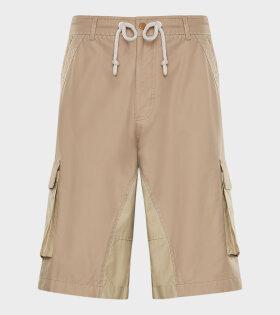 Moncler X JW Anderson - Bermuda Shorts Brown