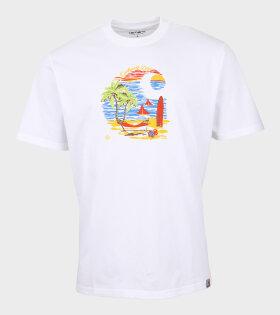 Beach C T-shirt White