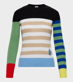 Moncler X JW Anderson - Girocollo Tricot Knit Multicolour