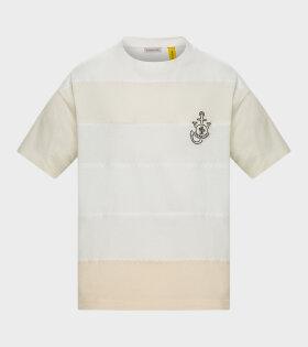 Moncler X JW Anderson - Stitch T-shirt White/Beige