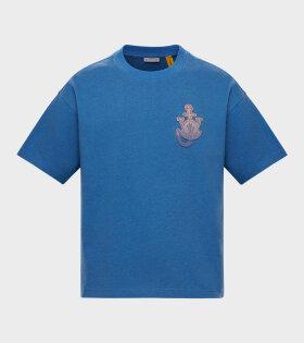 Moncler X JW Anderson - Logo T-shirt Blue