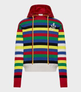 Moncler X JW Anderson - Girocollo Con Cappuc Knit Multicolour