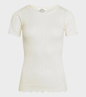 Mads Nørgaard  - Trixa T-shirt Off White