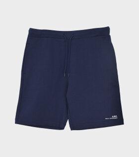 A.P.C - Short Item Shorts Dark Navy