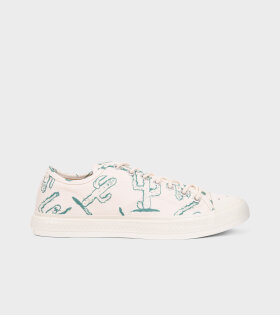 Canvas Sneakers Off White/Cactus