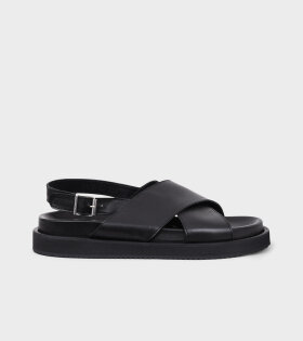 Footbed Sandals All Black