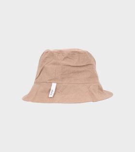 Nina Bucket Hat Light Brown
