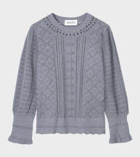 Bellerose Knit Blouse Blue