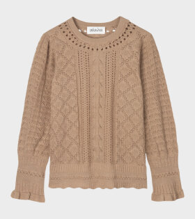 Bellerose Knit Blouse Brown