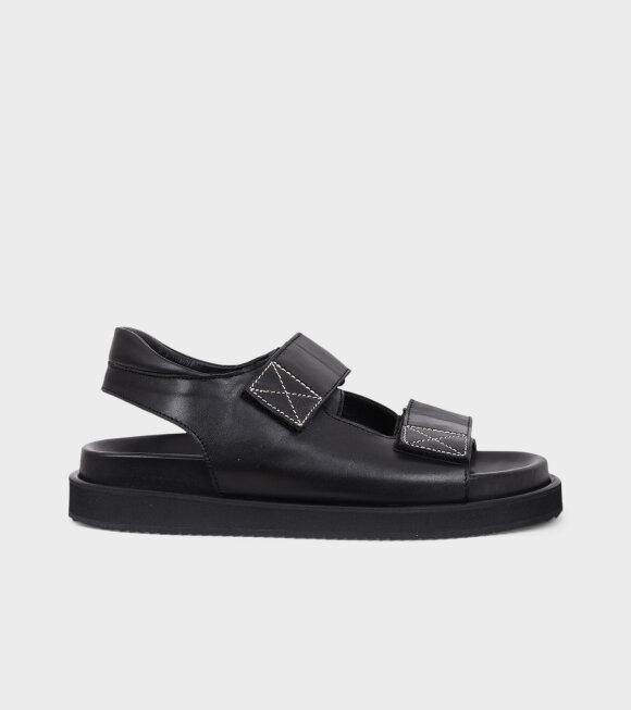 Angulus - Velcro Sandals All Black