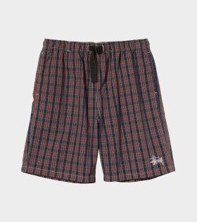 Stüssy - Brushed Cotton Mountain Shorts Plaid