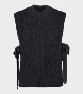 Francine Vest Black