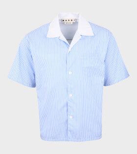 Striped SS Shirt Blue/White