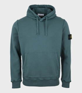 Patch Hoodie Green