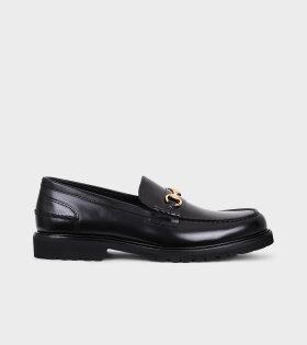 Le Club Loafer Black Polido