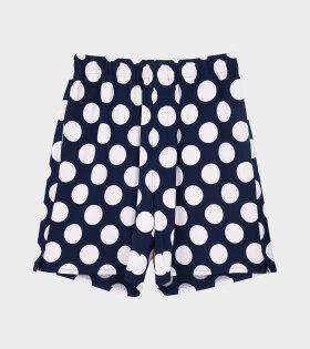 AMI - Dots Shorts Navy