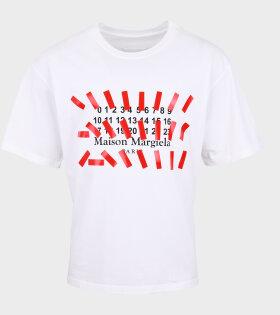 Maison Margiela - Stickers T-shirt White