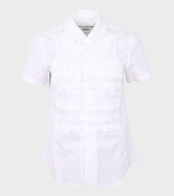Comme des Garcons Girl - Flamingo S/S Shirt White
