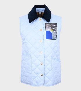 Burberry - Hatfield Vest Blue