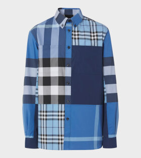 Burberry - Tewkesbury Shirt Blue