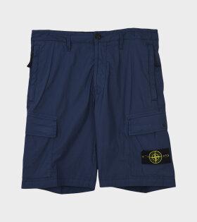 Stone Island - Logo Patch Shorts Navy