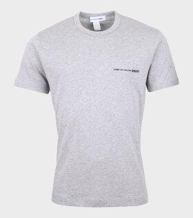 Logo T-shirt Grey