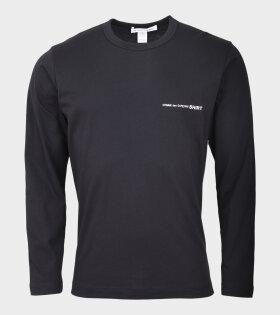 Logo L/S T-shirt Black
