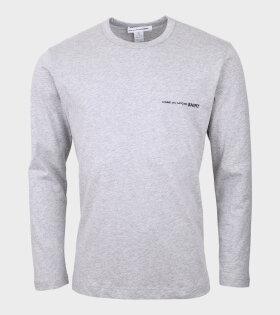 Logo L/S T-shirt Grey