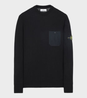 Stone Island - Pocket Knit Black