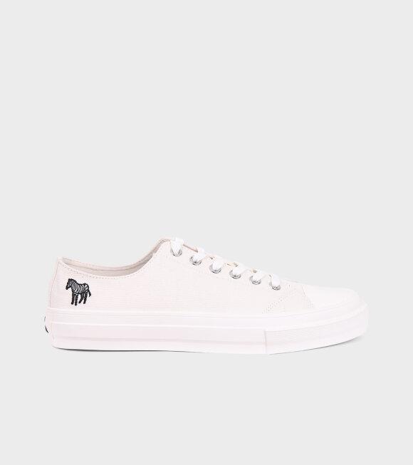 Paul Smith - Kinsey Low Zebra Sneakers Off-White