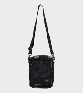 Counter Shade Shoulder Bag Khaki Camouflage