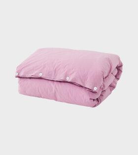 Tekla - Percale Duvet 140x200 Mallow Pink
