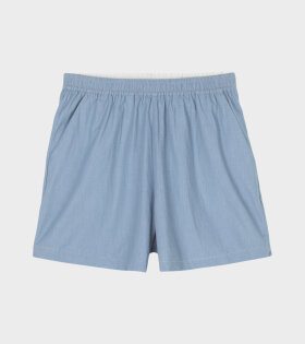 Aiayu - Lulu Chambray Shorts Vintage Blue