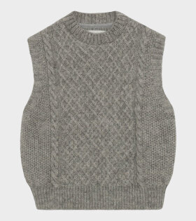 Skall Studio - Oda Vest Light Grey
