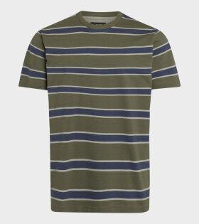 Mads Nørgaard  - Twin T-shirt Olive Night