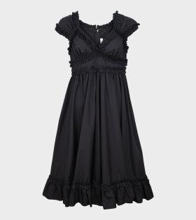 Flamingo Dress Black