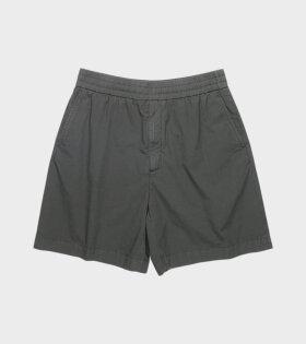 Acne Studios - Cotton Shorts Anthracite Grey