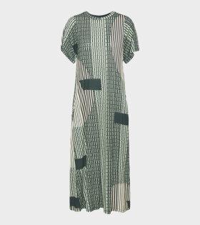 Rising Jersey Dress Green