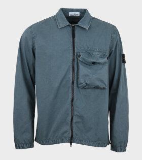 Overshirt Patch Jacket Green
