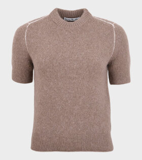 Acne Studios - Kadiel Fluffy Alpaca SS Knit Brown