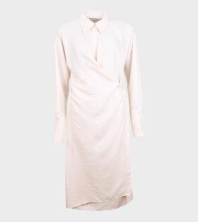 Acne Studios - Drew Fluid Shantung Dress Off-White