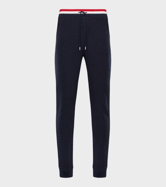 Moncler - Pantalone Sweat Pants Navy/Multi