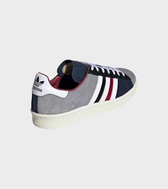 Adidas  - Campus 80s Collage Burgundy/White/Navy
