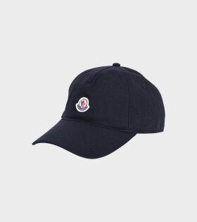 Berretto Baseball Cap Navy