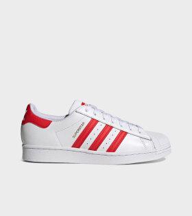 Superstar White/Red