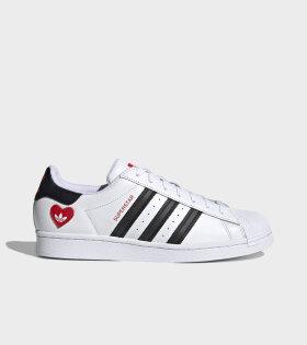 Superstar Love Heart White/Black