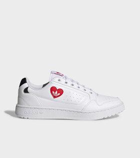 NY 90 Love Heart White/Black