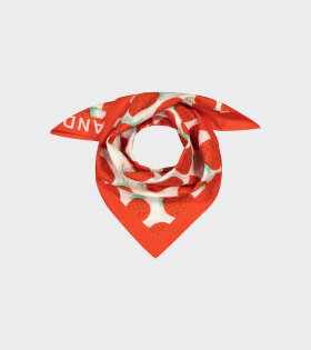 Etevä Unikko Scarf Strawberry