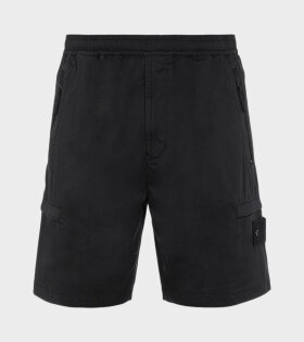 Stone Island - Logo Ghost Shorts Black