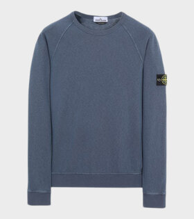 Patch Sweatshirt Blue